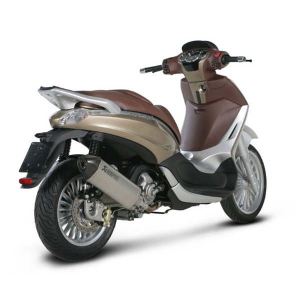 pot slip on akrapovic piaggio beverly 350 sport touring. Black Bedroom Furniture Sets. Home Design Ideas