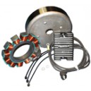 Kit Alternateur - Stator - Rotor - Harley Davidson - Softail