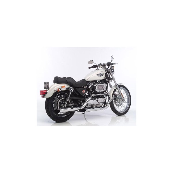 echappement leovince silvertail harley davidson sportster 1200 xl 883. Black Bedroom Furniture Sets. Home Design Ideas