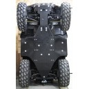 Sabot Central - Protections Marches Pieds -Polaris- Sportsman 850XP